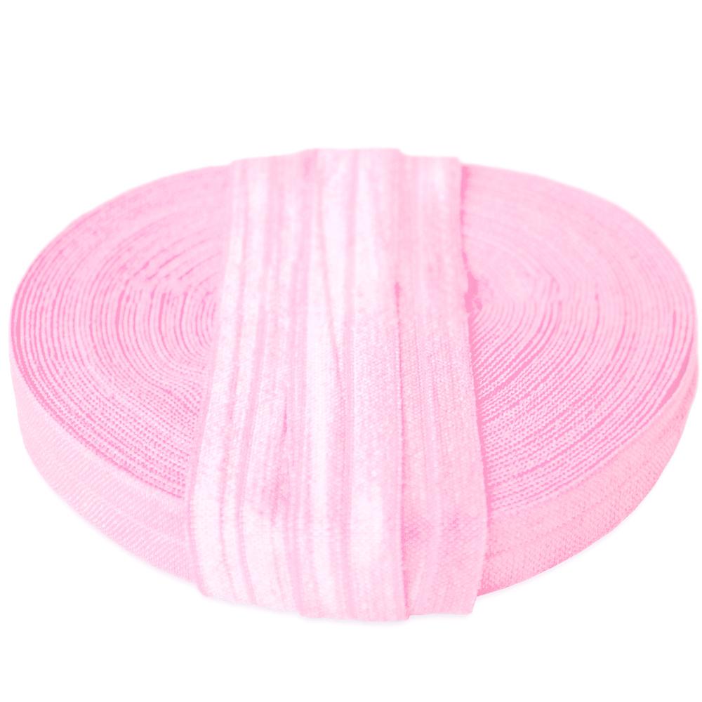 Elastika, obrobna, 15 mm, 16181-11345, roza