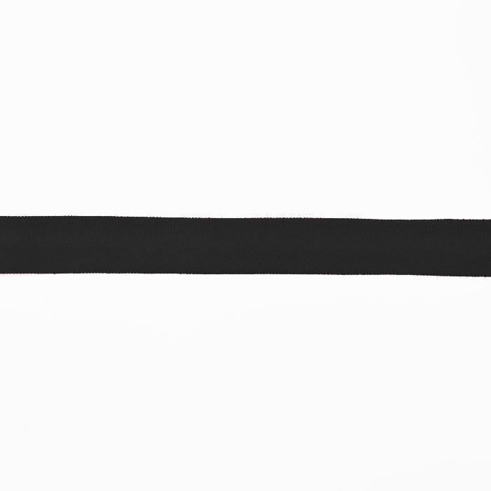 Band für Besäumung, Jersey, Baumwoll, 16517-42734, schwarz