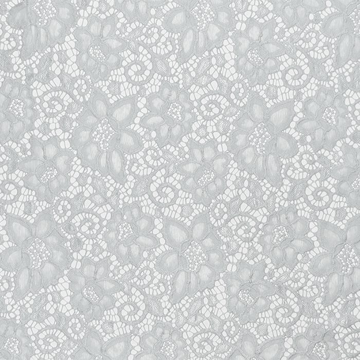 Čipka, elastična, 16543-061, siva