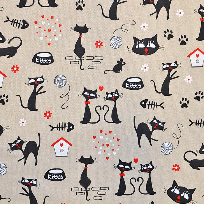 Deko, tisak, mačke, 15188-34