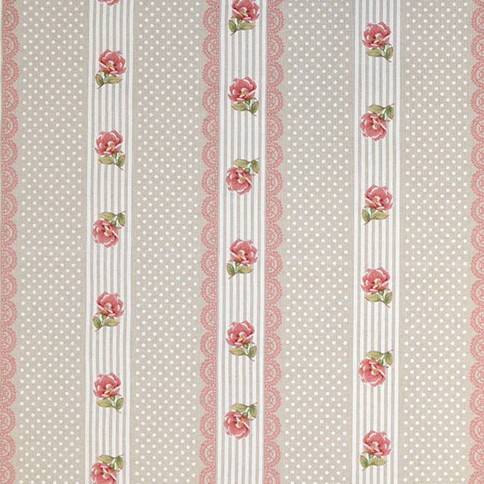 Deko, tisk, cvetlični, 15188-132