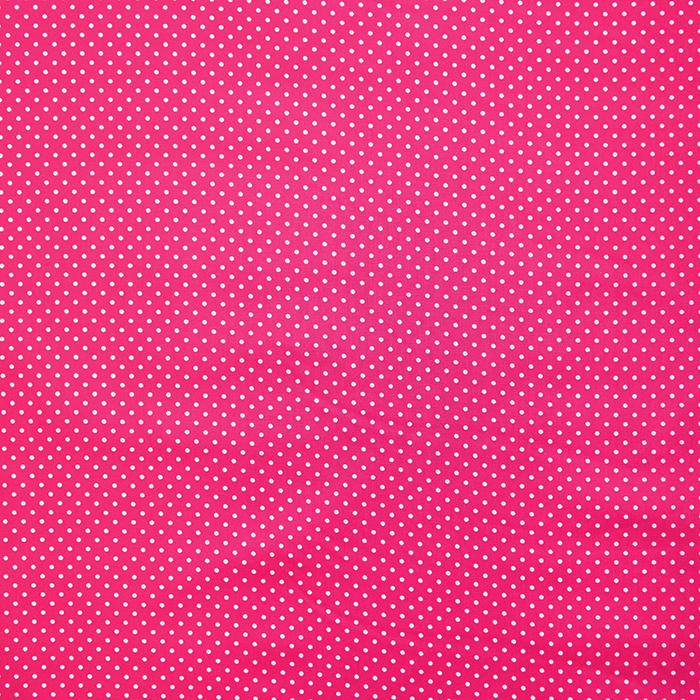 Bombaž, impregniran, pikice, 16629-017, roza