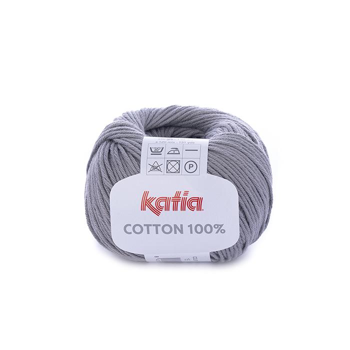 Preja, Cotton 100%, 14733-15, siva