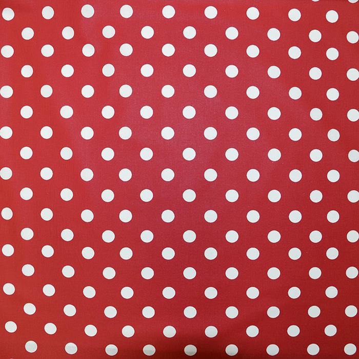 Bombaž, impregniran, pike, 16778-1, rdeča