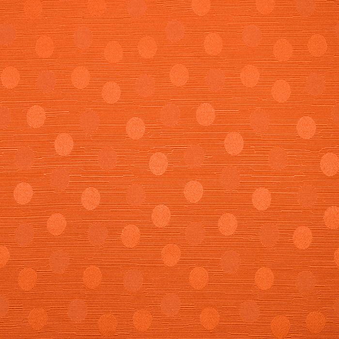 Otoman, žakard, 4146-308, oranžna