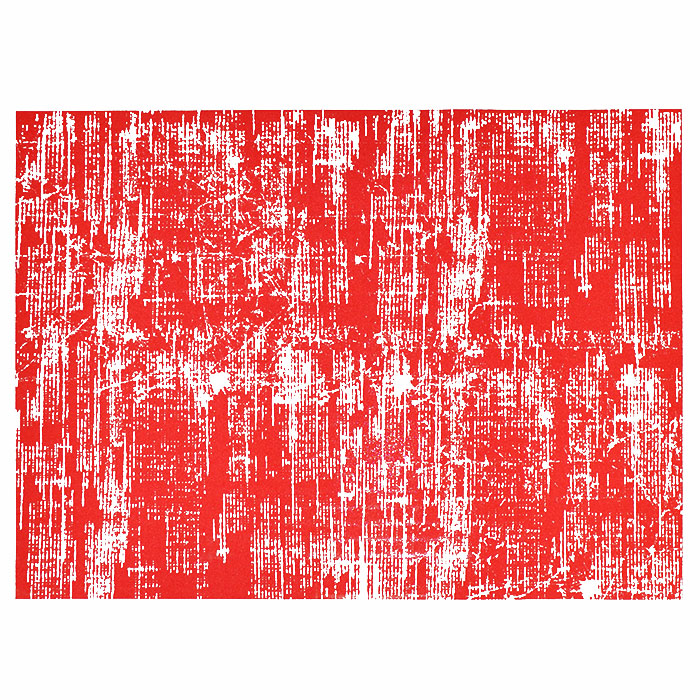 Transfer picture, square, 16924-16, red