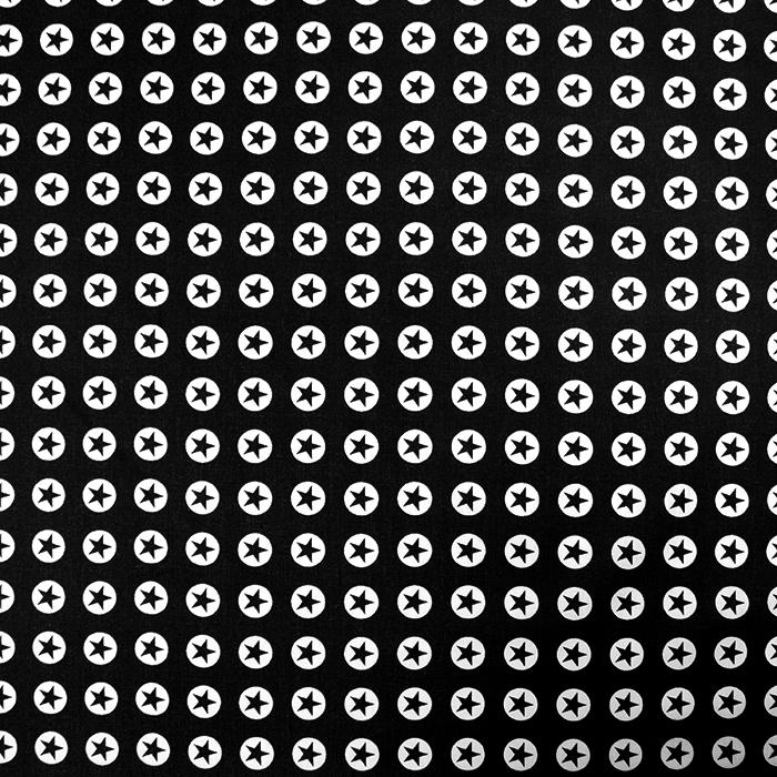 Bombaž, poplin, zvezde, 16982-069