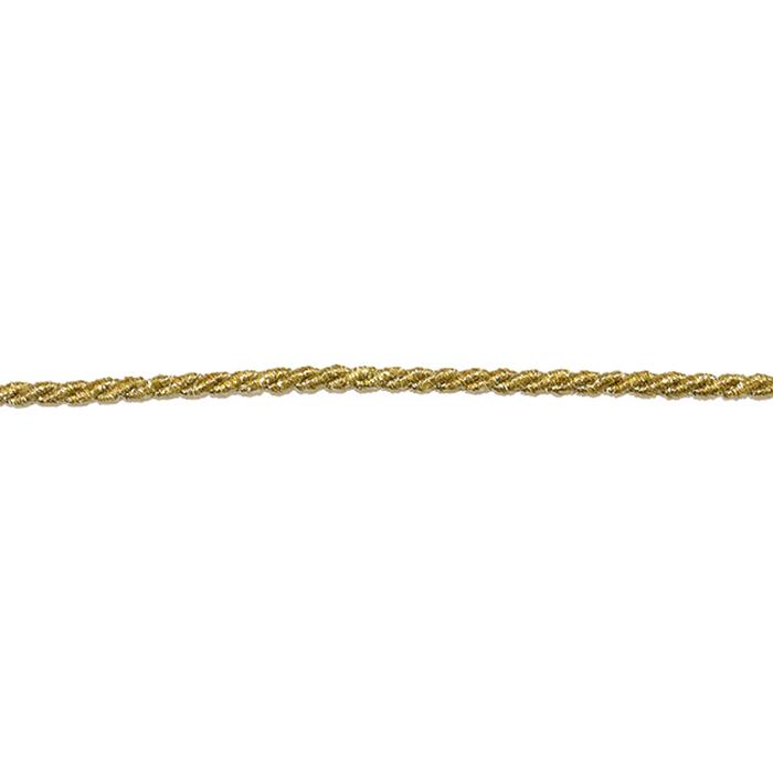 Vrvica, 4mm, 17011, zlata
