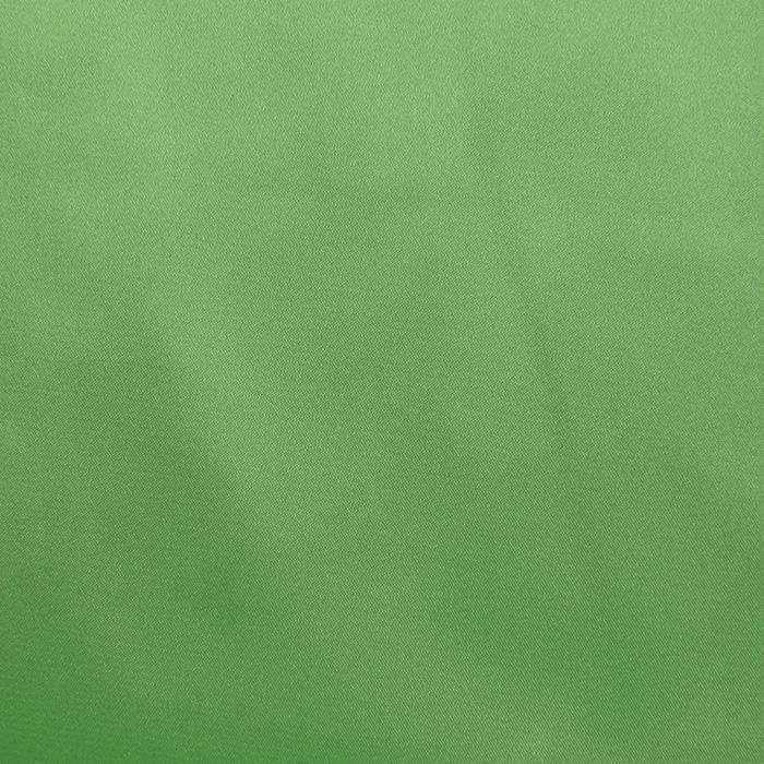 Saten, poliester, 3093-31f, zelena
