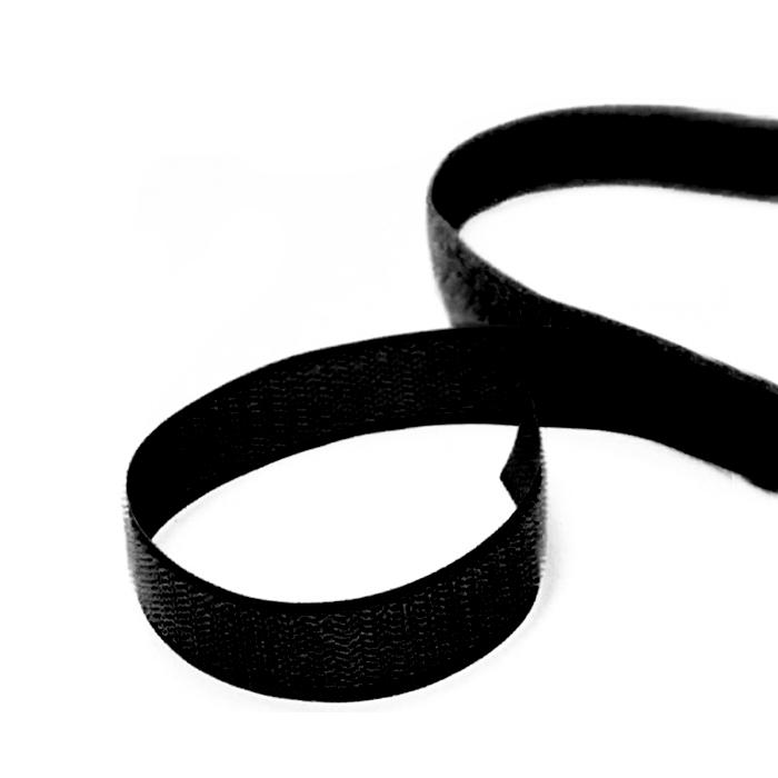 Ježek trak 20mm, samolepilni , 16913-2, črn