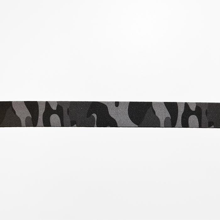 Elastika, 25mm, kamuflažni,  17022-42487