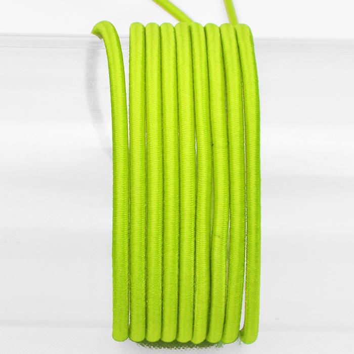Elastika, okrogla 3mm, 16206-41610, zelena