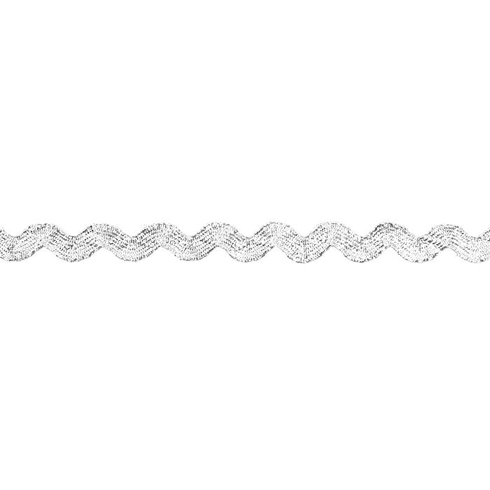 Trak, okrasni, cik cak, 17272-41169, srebrna