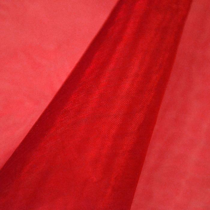Organza, dvobarvna, 13903-101, rdeča