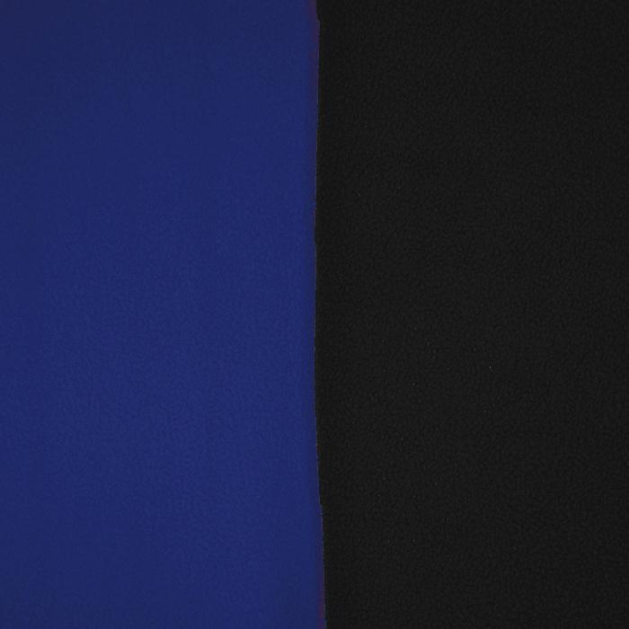 Velur, dvobarvni, 17350-29, črno-modra
