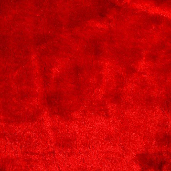 Krzno, umetno, kratkodlako, 17289-53, rdeča