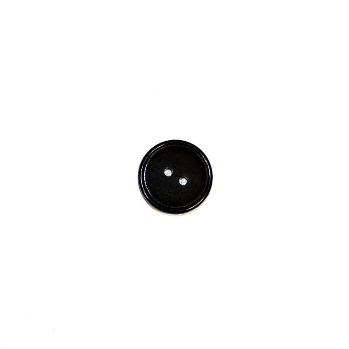 Gumb, kostimski, 20mm, 4839-1, črna