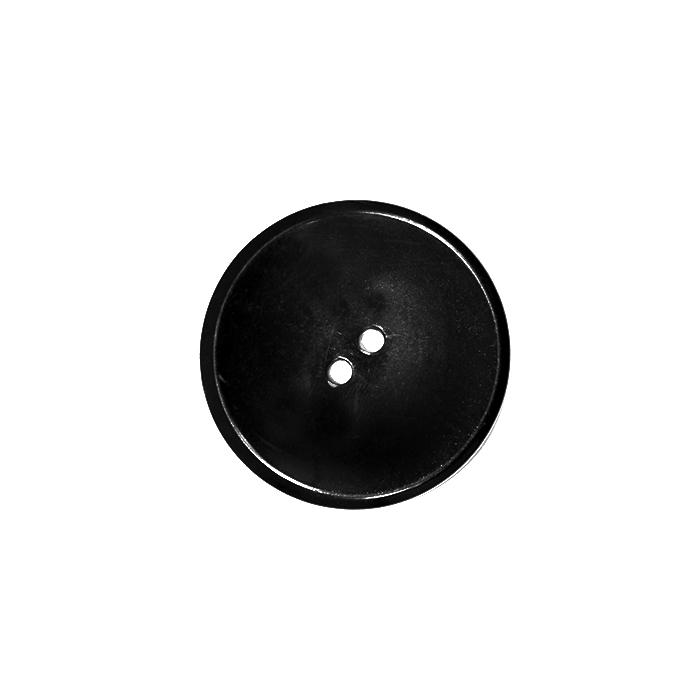 Gumb, kostimski, 40mm, 2769-1, črna