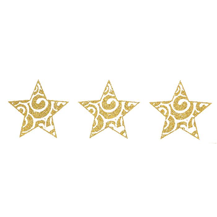 Preslikač, zvezde, 17504-1, zlata