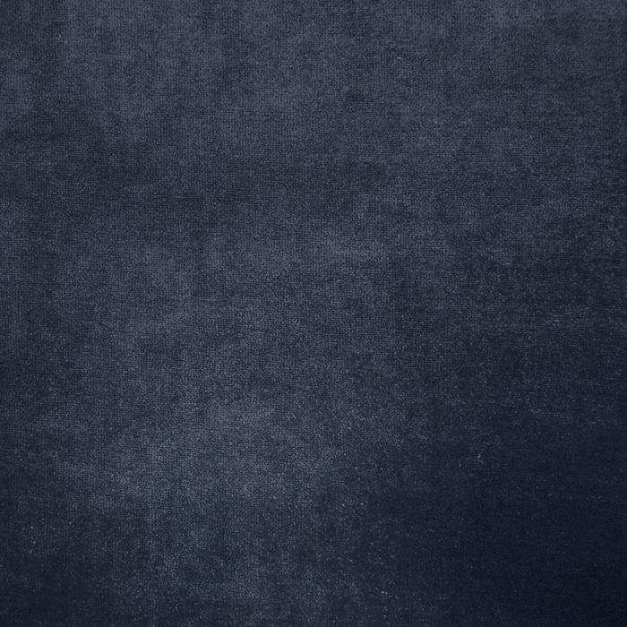 Pliš bombažen, 13348-008, temno modra