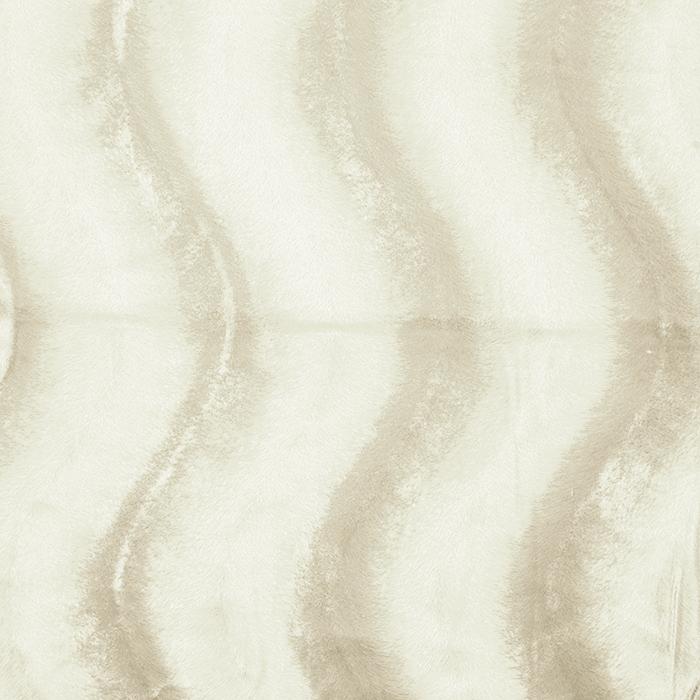 Poliester, kosmaten, 17592-01, smetana