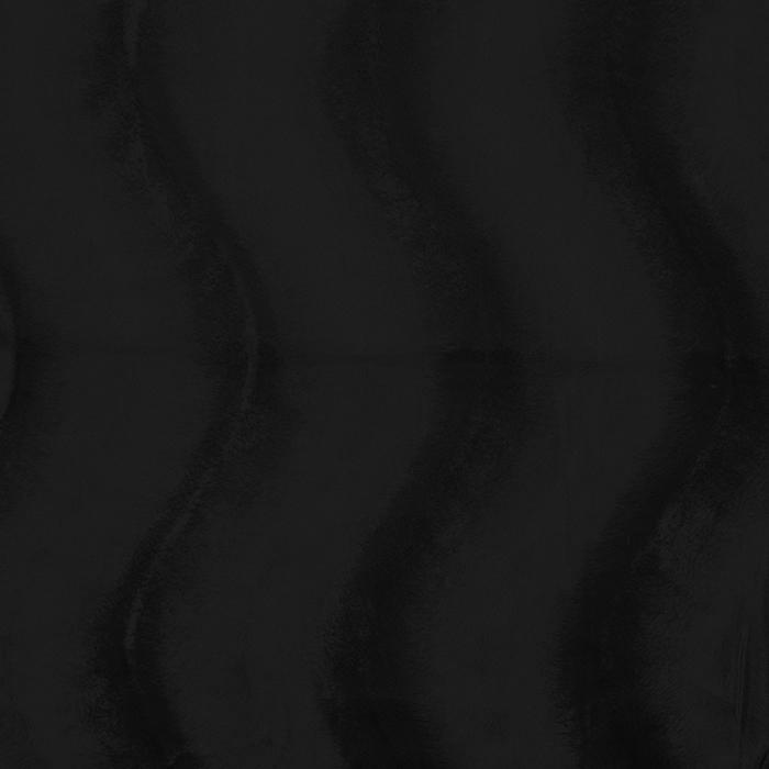 Poliester, kosmaten, 17592-04, črna
