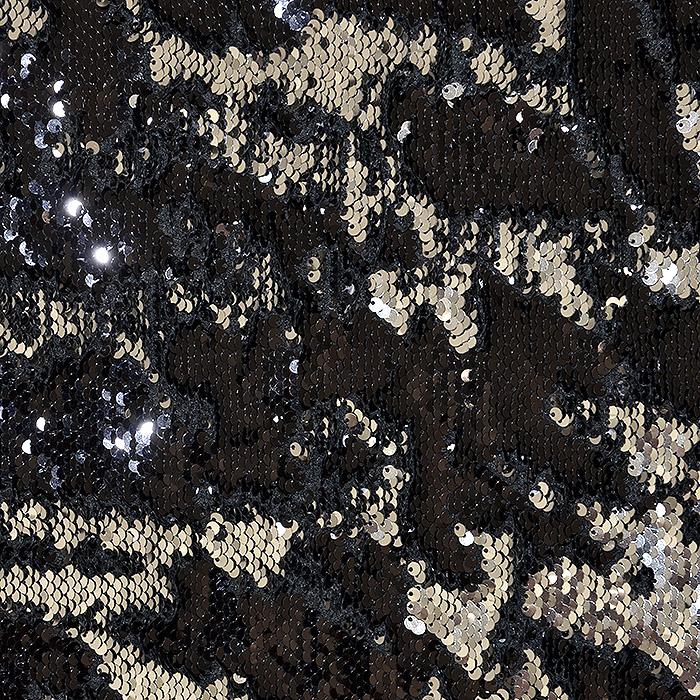 Bleščice, jersey, 17598-061, črno srebrna