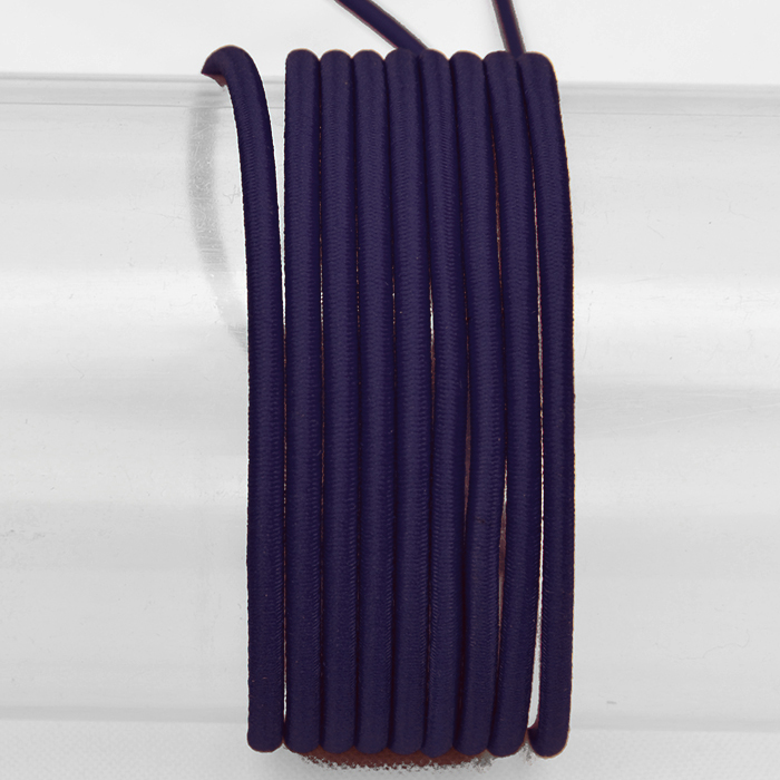 Elastika, okrogla 3mm, 16206-41606,modra