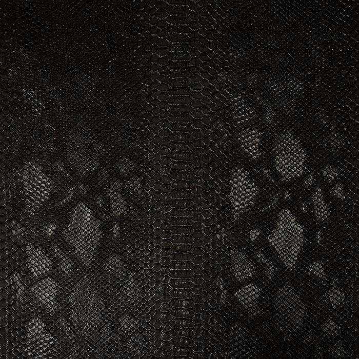 Umetno usnje, kača, 17700-903, črna