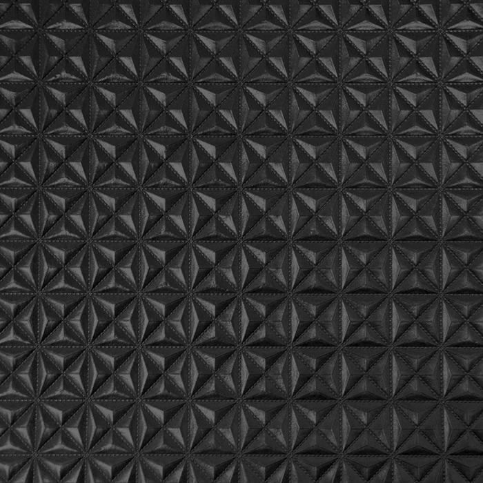Umetno usnje, Pyramide, 17701, črna