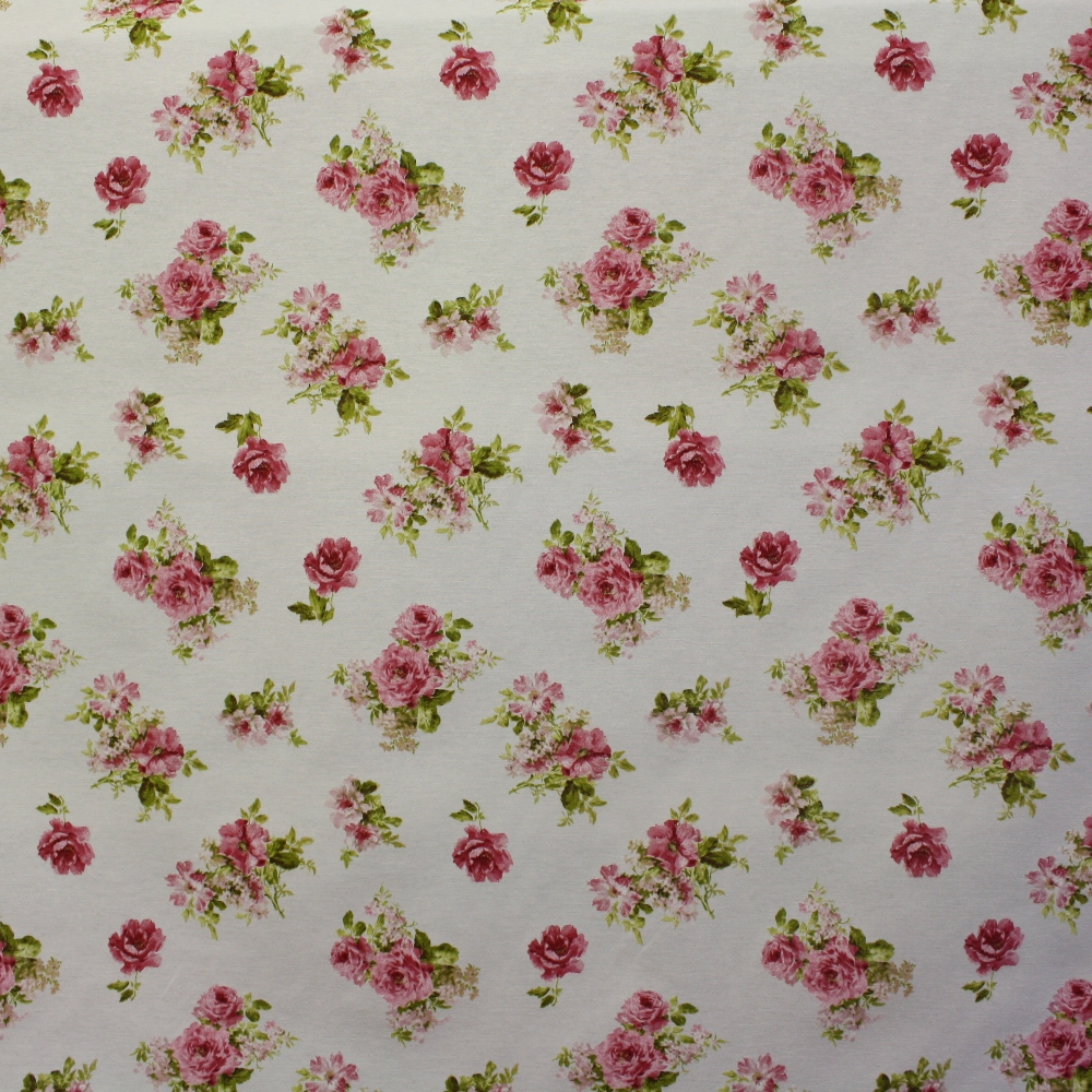 Deco, print, floral, roses, 5602