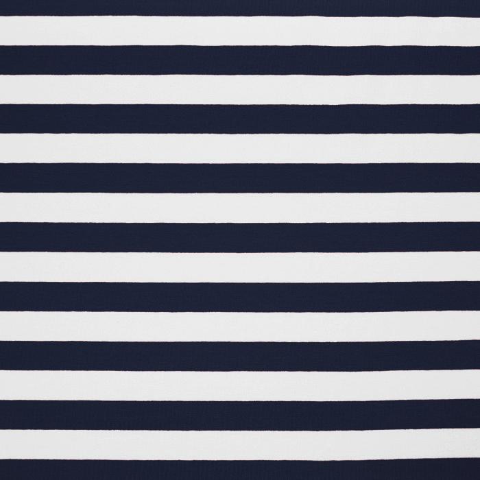 Jersey, bombaž, črte, 17415-002, modra