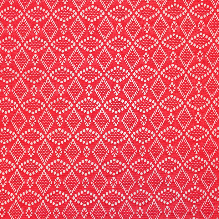 Čipka, elastična, 17610-015, rdeča