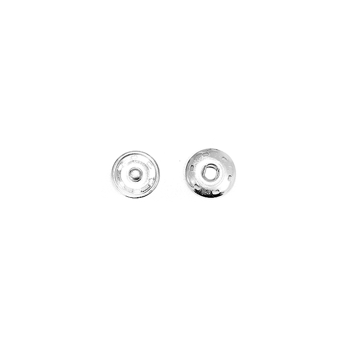 Pritiskači, prišivni, 0,6cm, 18033-101, srebrna