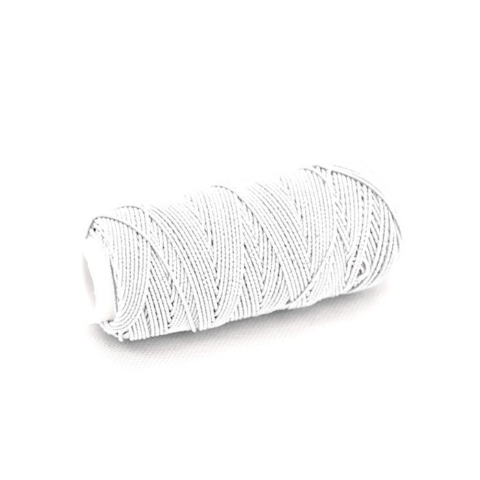 Sukanec, elastični, 18042-001, bela