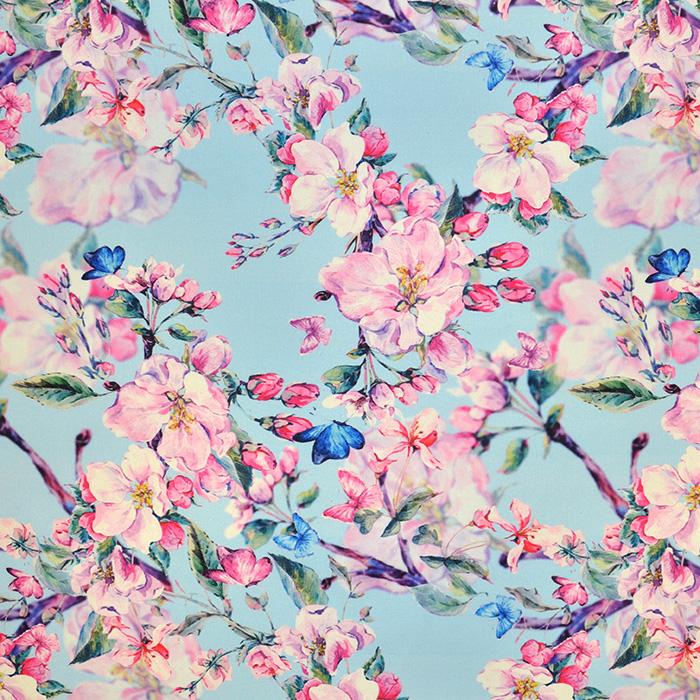 Deko, digitalni tisk, cvetlični, 18127-48