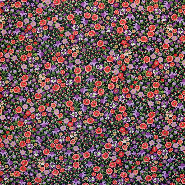 Wirkware, dünn, floral, 18131-25