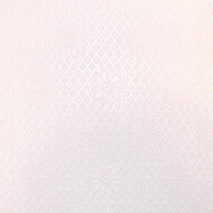 Čipka, geometrijski, 18132-01, belo roza