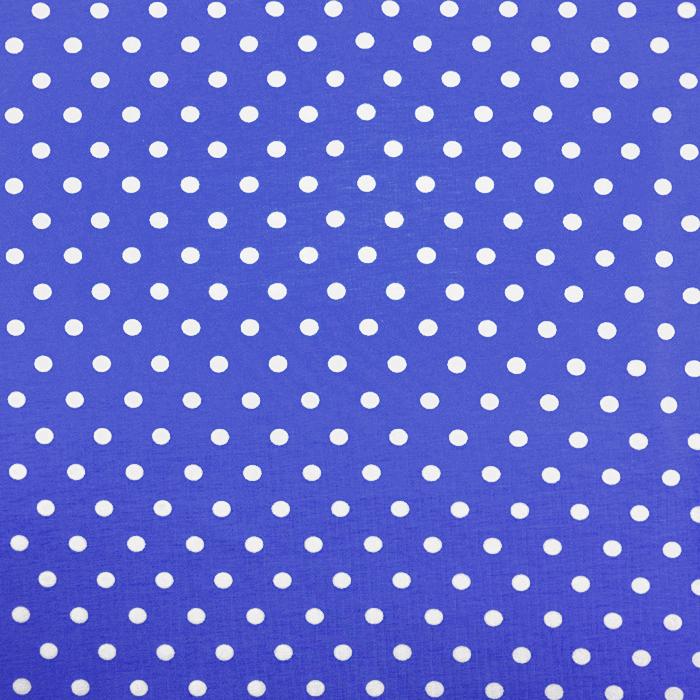 Jersey, Baumwolle, Punkte, 18217-199, blau