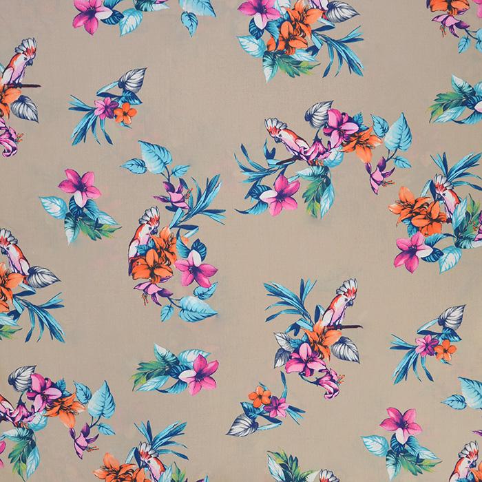 Bombaž, poplin, cvetlični, 18158-02