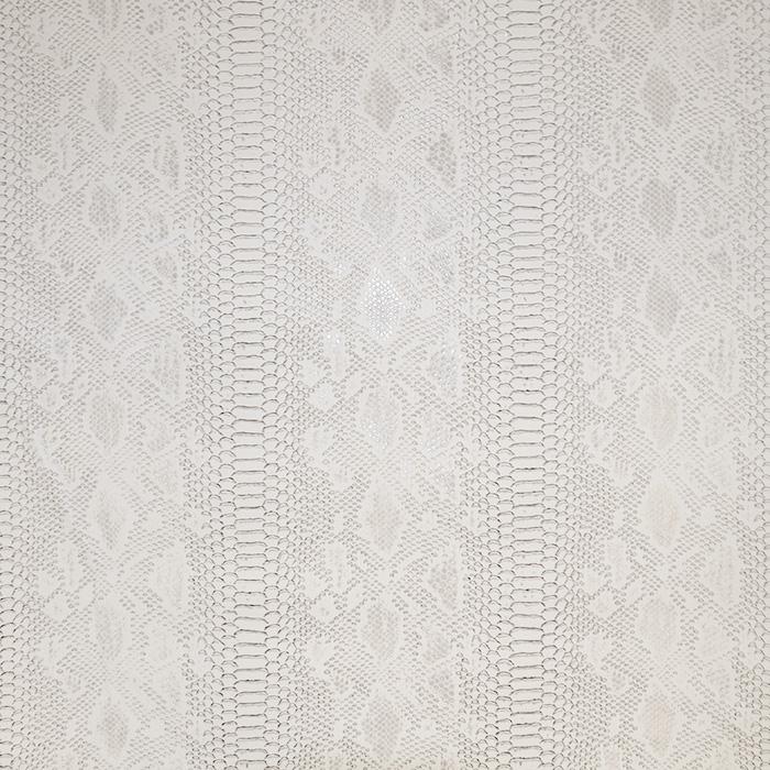 Umetno usnje, kača, 17700-004, bela