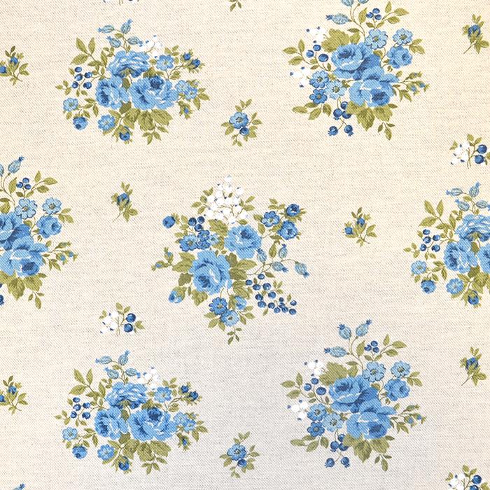 Deko, tisk, cvetlični, 18275-6150