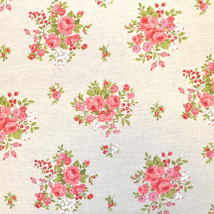 Deko, tisk, cvetlični, 18275-6149