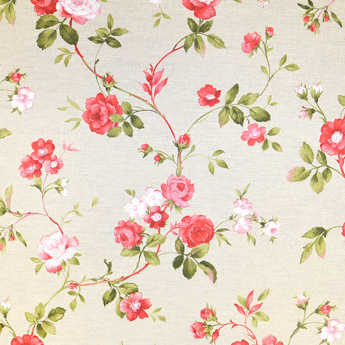 Deko, tisk, cvetlični, 18275-6132