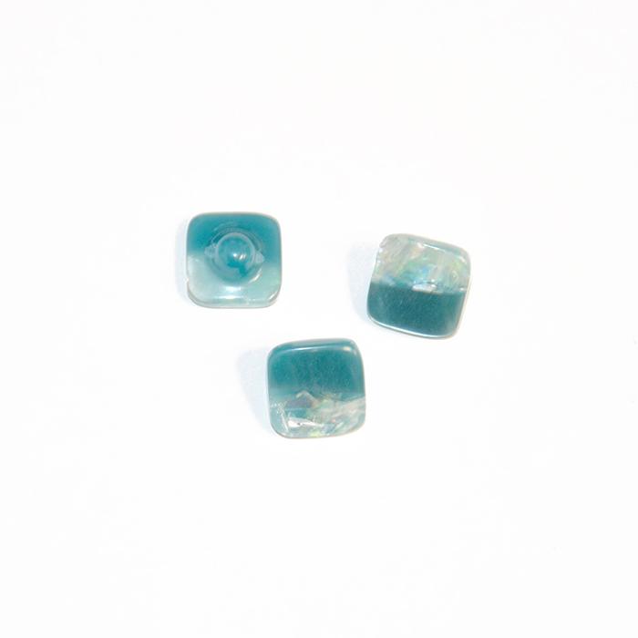 Gumb, modni 24, 18329-005, turkizna