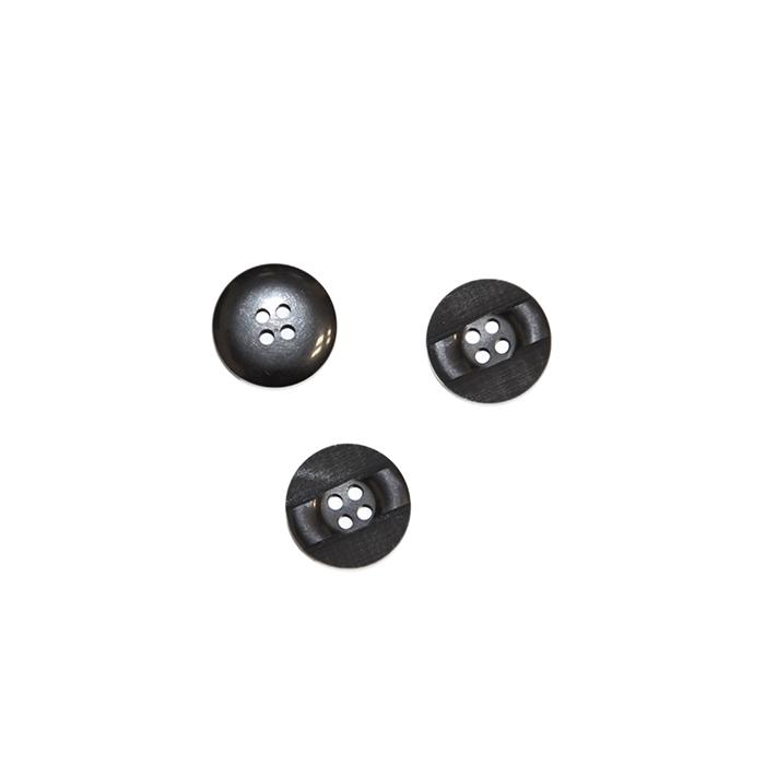 Gumb, kostimski 24, 18333-002, črna