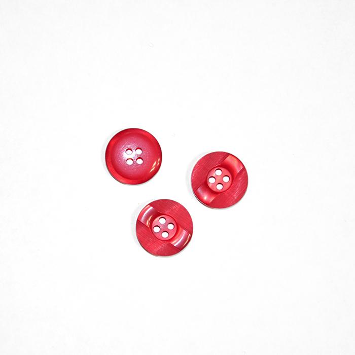 Gumb, kostimski 24, 18266-009, rdeča