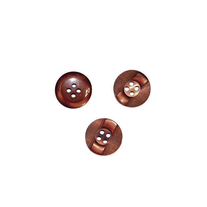 Gumb, kostimski 28, 18266-025, rjava