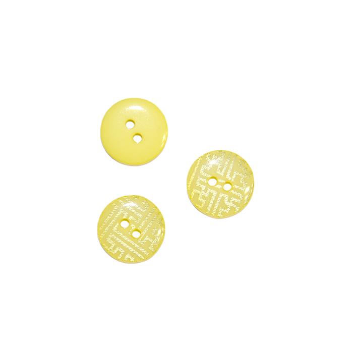 Gumb, kostimski 32, 18338-010, rumena