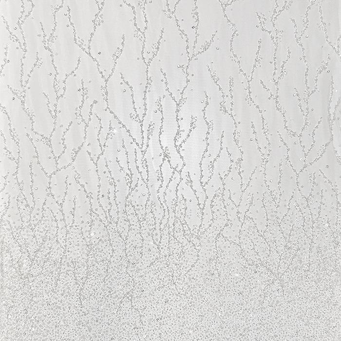 Čipka, ekskluziva, 18383, off bela